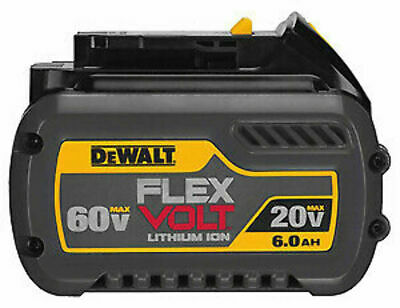 DEWALT-BLACK AND DECKER INC DCB606 Flexvolt 20/60V Max Battery Pack 6.0AH