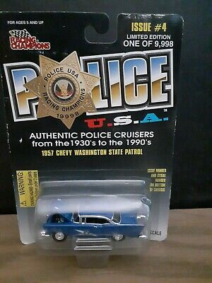Maryland State Police Trooper 1950 Ford Coupe Racing Champions FREE SHIPPING #86