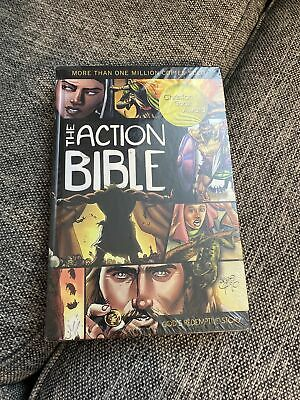 The Action Bible (Sergio Cariello) - God's Redemptive Story - Christian Book