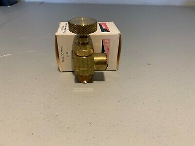 Generant 3000-6-AN Needle Valve, New and in Original Packaging
