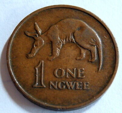 ZAMBIA 1968 :  1 Ngwee Coin