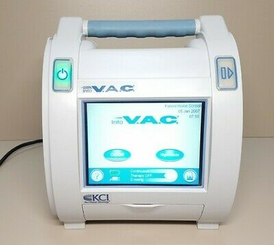 infoV.A.C. VAC KCI K.C.I. Negative Pressure Wound Therapy Therapy Unit