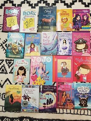 Lot of 19 Chapter Books for GIRLS Youth Early Reader Young Adult Children