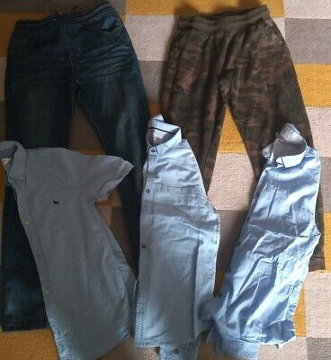 Boys Bundle Of jeans,joggers & 3 shirts Age 11-12 Years Excellent Condition