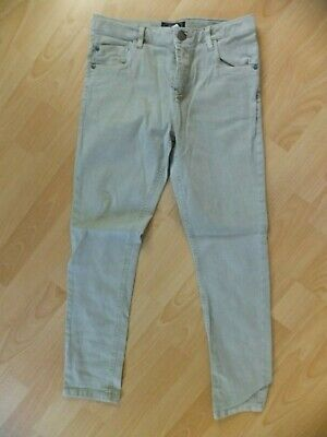 Boys light grey jeans.  Age 12 years.  From Next.