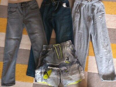 Boys Bundle 2 jeans, joggers &  trunks Age 12-13 Years very good Condition