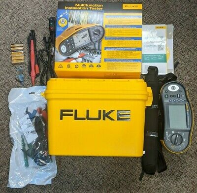 New Fluke 1664 FC Multifunction Electrical Safety Installation Tester