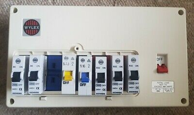 WYLEX FUSE BOX CONSUMER UNIT WITH FUSES 804 IVY 804IVY For Spares Repairs -  £20.00 | PicClick UK | Wylex Fuse Box Spares |  | PicClick UK