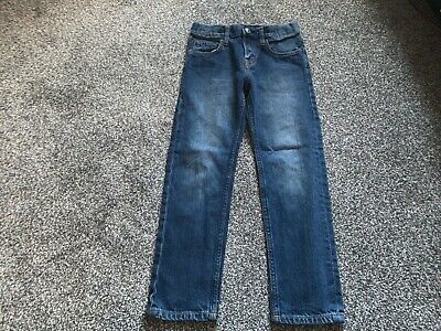 Boys Clothes blue slim fit jeans age 4/5 years