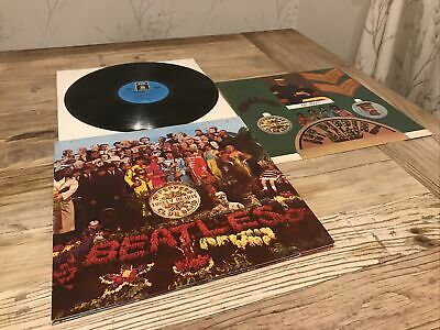 The Beatles Sgt Peppers Lonely Hearts Club Band SHZE401 EX -rare missing signed