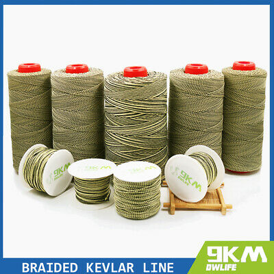 Braided Kevlar Line Fishing Assist Cord Tough Tactical String Made with Kevlar