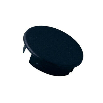 4X A4120000 Cap ABS black push-in Application: A2520,A2620 Shape: round OKW