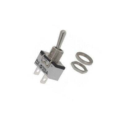 631H/2 Switch: toggle Pos: 2 SPST OFF-ON 15A/250VAC 15A/12VDC APEM