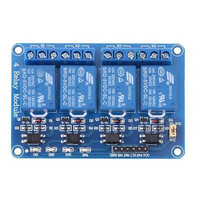 5V Four 4 Channel Relay Module With optocoupler for PIC AVR DSP ARM Arduino ✿