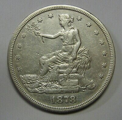 1878-S Trade Silver Dollar Grading XF Nice Coin Priced Right Shipped FREE  f35