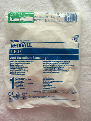 Anti-Embolism Knee Length Stockings - Extra Large - New In Bag