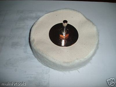 POLISHING/ BUFFING WHEEL MOP 100MM for DRILLS (TOOLS)