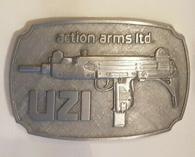 Action Arms Ltd. Buckle Gürtelschliesse / UZI  /original  USA