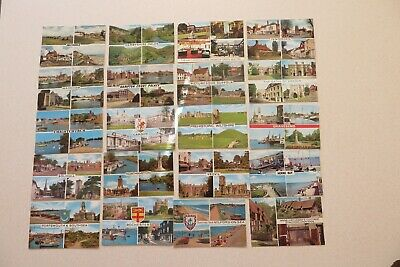"""20 ASSORTED MULTI VIEW Pre Owned Unused Not Posted 5 1/2 X 3 1/2"""" POSTCARDS."""