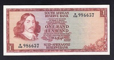South Africa 1 Rand 1973-75  VF  P. 115,    Banknote, Circulated