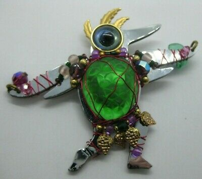 Retired collectible LizTech Tolima pinbrooch