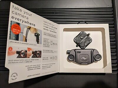 Peak Design Capture Camera Clip v3 w/ Plate & clamping bolts. Worldwide shipping