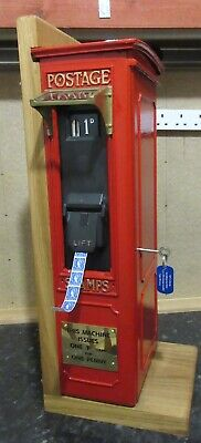 Stamp vending machine complete with Type M housing and B4 stamp mechanism