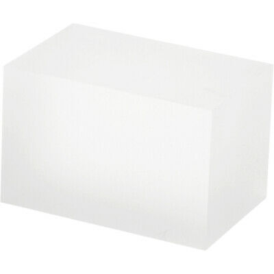 """Plymor Frosted Polished Acrylic Rectangular Block 2""""H x 2""""W x 3""""D (3 Pack)"""