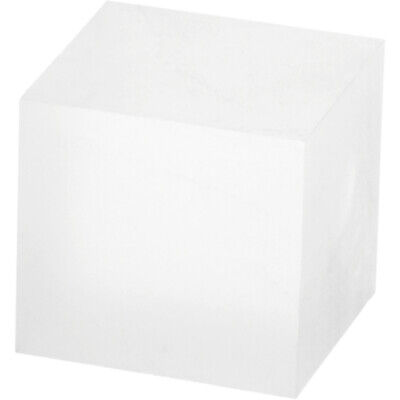 """Plymor Frosted Polished Acrylic Square Block 1.5""""H x 1.5""""W x 1.5""""D (3 Pack)"""