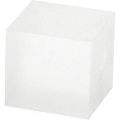 """Plymor Frosted Polished Acrylic Square Block 1.5""""H x 1.5""""W x 1.5""""D (6 Pack)"""