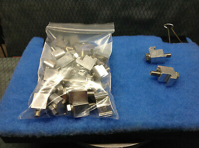 kurt lesker single clamps 25 pcs. 4 lots available 1 sold