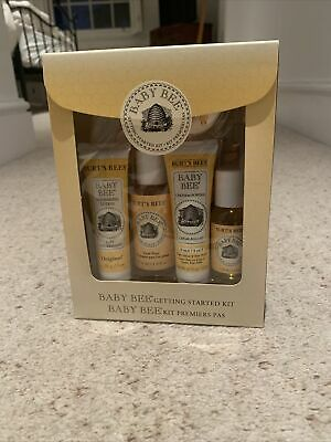 Burts Bees Baby Bee Getting Started Kit Brand New