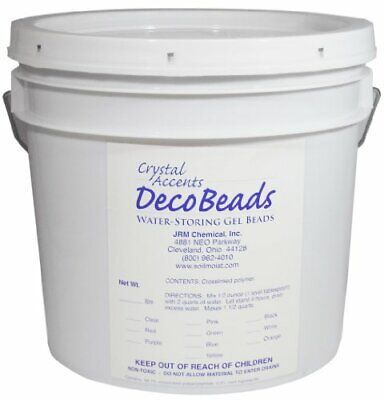 Deco Beads DB-B05 Blue 5-Pound Pail