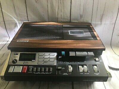 Sony Confer-Corder BM-146 Vintage Transcriber Dictation Recorder - needs repair
