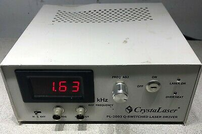 CrystaLaser PL-2003 Q-Switched Lasers