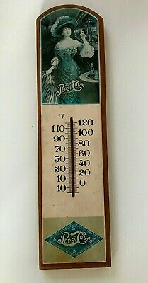 VTG Pepsi Wood Thermometer - 1950's