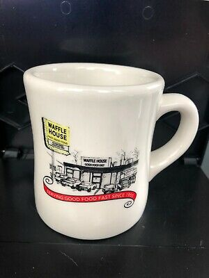 Waffle House 2010 Retro Heavy Duty Coffee Mug - Free Shipping