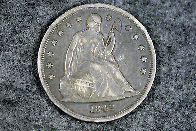 Estate  Find 1842   LIBERTY SEATED  DOLLAR   #D25446