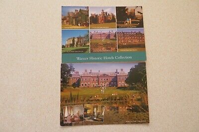 2 Warner Historic Hotels Pre Owned Unused Not Posted Postcards.