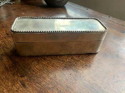 Pewter Storage Box