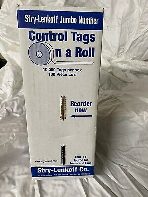 Control Tags For Drycleaning SLCT-D