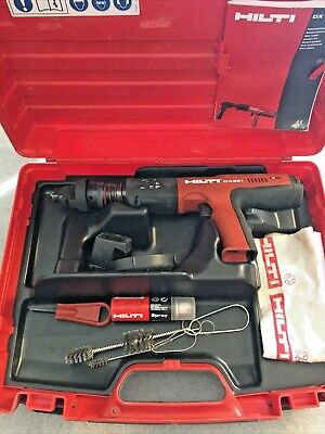 HILTI DX 351 Automatic Powder-Actuated Tool W/Case - GREAT CONDITION!