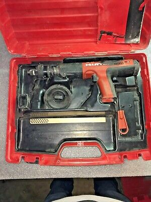 Hilti DX 351 Fully Automatic Powder-Actuated Tool W/Case -WE SHIP INTERNATIONAL