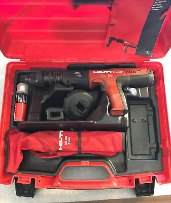 Hilti DX 351 Fully Automatic Powder-Actuated Tool W/Case, We ship international!