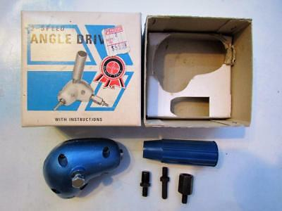 """2 - Speed Angle Drive For 1/4"""" Electric Drill"""