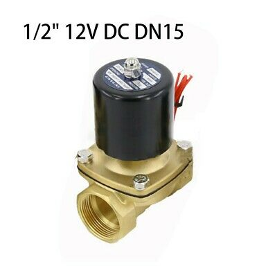 Durable 2-Way Solenoid Valve Air Water N/C Gas Oil Normally Closed 12v 240v BSP!