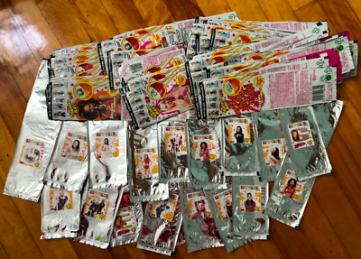 RARE HUGE SET 73 SPICE GIRLS chupa chups fantasy lollipop wrappers w/ stickers