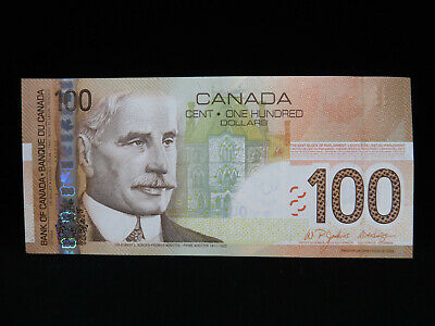2004 $100 Bank of Canada Banknote BKC 6688024 Jenkins Dodge Choice UNC Grade