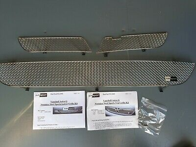 High Quality Lockwood DIY Silver Cut Stainless Steel Car Grille Mesh 87 x 17cm
