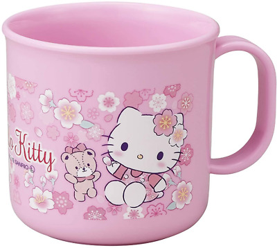 JAPAN Sanrio Hello Kitty Cat Stand Mirror Makeup Beauty Pink White Travel Gift